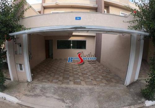 Sobrado Com 2 Dormitórios À Venda, 89 M² Por R$ 660.000 - Vila Invernada - São Paulo/sp - So1633