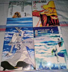 Arakawa Under The Bridge Vol. 1,2,3 E 4