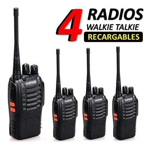 Radio Walkie Talkie Comunicacion Motorola Baofeng  Bf888s