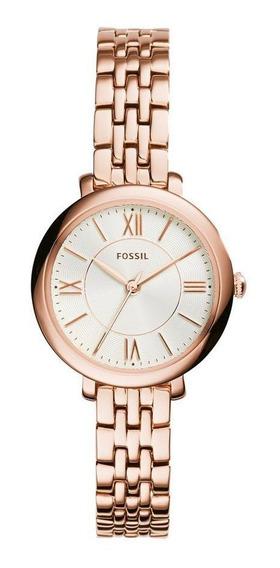 Relógio Fossil Feminino Jacqueline Mini Roxo Es3799/1jn