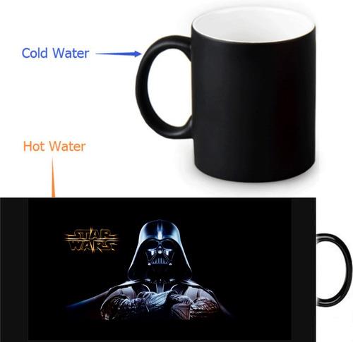 Mug Mágico Star Wars Pocillo Darth Vader