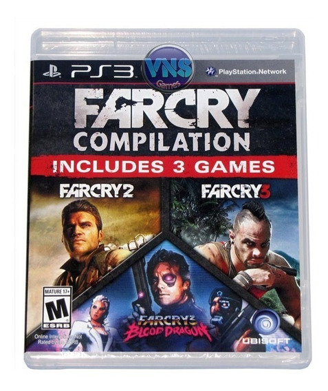 Far Cry Compilation - 3 Jogos - Americano Lacrado