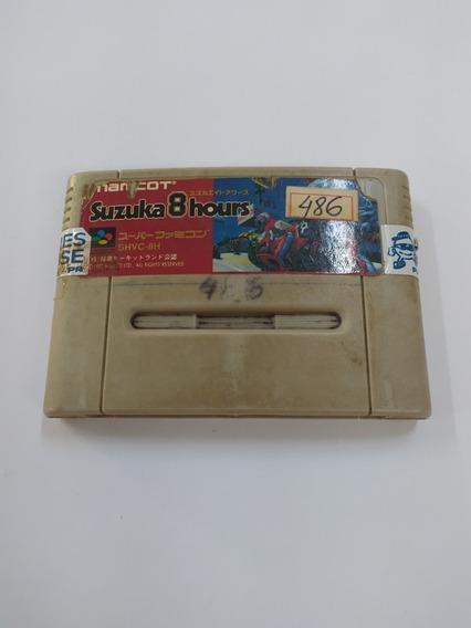 Suzuka 8 Hours - Super Nintendo - Snes - Japonês