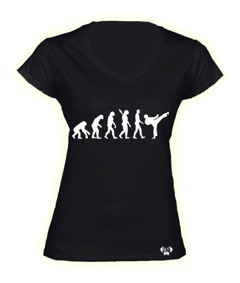 Sarcasmo Karate Evolution Artes Marciales Evolucion Dama