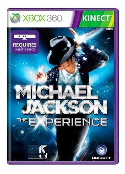 Michael Jackson The Experience Xbox 360 Mídia Física