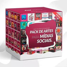 Pack Digital De Artes Para Redes Sociais + 60g De Imagens Hd