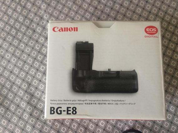 Battery Grip Barato Bg-e8 Canon Bateria Carregador Barato