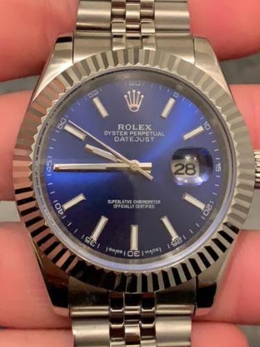 Relogio Rolex Mecanico Automático Datejust