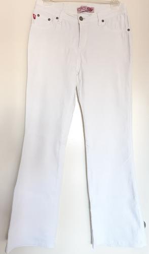 Pantalon De Dama Oxfod Blanca