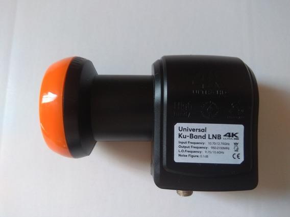 Lnb Duplo, Alicate De Compressão E 20 Conectores Rg6