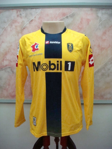 Camisa Futebol Sochaux Montbeliare França Lotto Jogo 2411