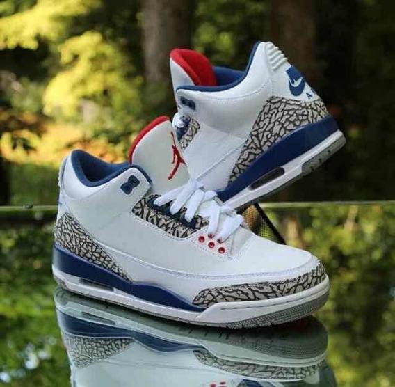 Zapatillas Jordan Air Nike Retro 3 Og True Blue