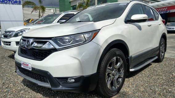Honda Crv Awd Exl Blanca 2017