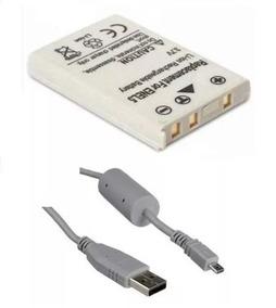 Kit Bateria En-el5 + Cabo Usb Niko P5000 P6000 P90 Enel5