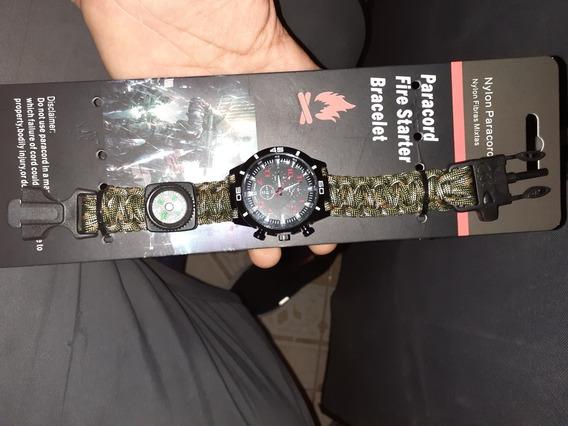 Pulsera Con Reloj
