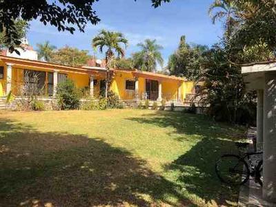 Casa De Un Nivel A La Venta En Cuernavaca, Morelos