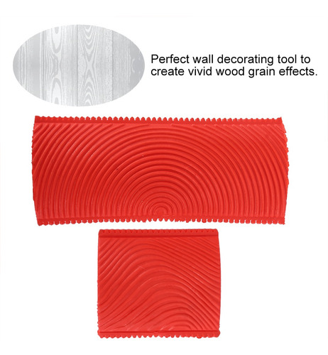 Imagen 1 de 4 de Veteador Para Pintar Con Acabado Imitación Madera Kit 2 Pzs