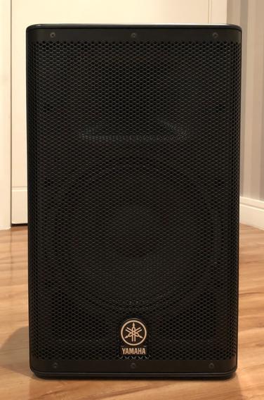 Monitor Yamaha Dxr-10 Frfr - Ótimo P/ Fractal, Kemper, Line6
