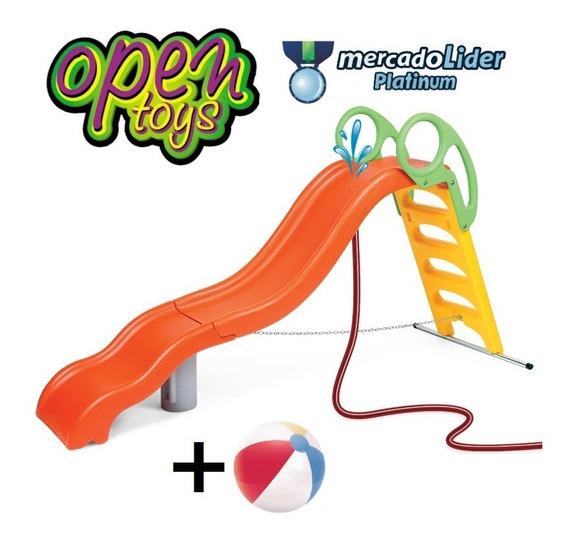 Tobogan 5 Nivel 4 Esc Agua Vegui +regalo / Open-toys 34 Ea