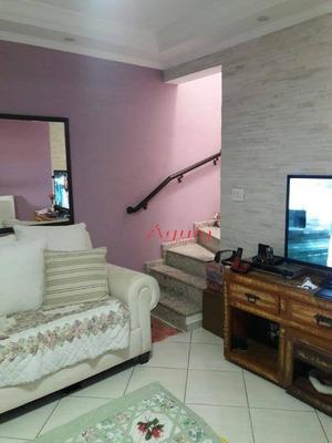 Sobrado Com 2 Dormitórios À Venda, 110 M² Por R$ 399.000 - Vila Alto De Santo André - Santo André/sp - So0986