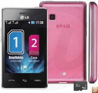 Smartphone LG T375 Rosa