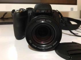 Câmera Fuji Finepix Hs10 30x Zoom + Cartão 4 Giga E Bolsa.