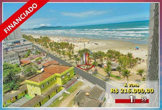 Apartamento Com 1 Dormitório À Venda, 55 M² Por R$ 215.000,00 - Mirim - Praia Grande/sp - Ap1783