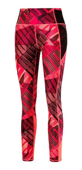 Puma Calza 7/8 Training Mujer Be Bold Rojo
