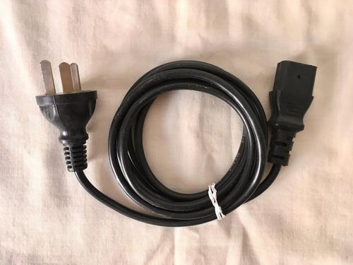 Cable Negro Para Computadora, Impresora, Monitor - 10a 250v