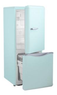 Daewoo Refrigerador Retro 5 Pies Verde Menta Nuevo Garantía