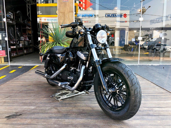 Harley Davidson -xl 1200x Forty Eight Sportster 2016 - Preta