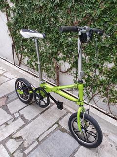 Bicicleta Plegable Importada Rodado14