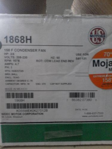 Motor Emerson 1868 3/4hp 1e 220v 1075rpm 1v Nuevo