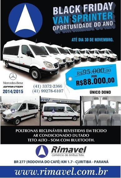 Mercedes-benz Sprinter Van 2.2 Cdi 415 Teto Alto 5p 16 Lug.