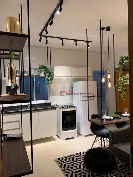 Apartamento Com 2 Dormitórios À Venda, 39 M² Por R$ 230.000 - Vila Esperança - São Paulo/sp - Ap4250