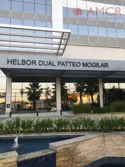 Maravilhosa Sala Comercial Nova No Dual Patteo, 38 M², 3 Ambientes Com Ar Condicionado, 2 Banheiros E 1 Vaga - Sa0015