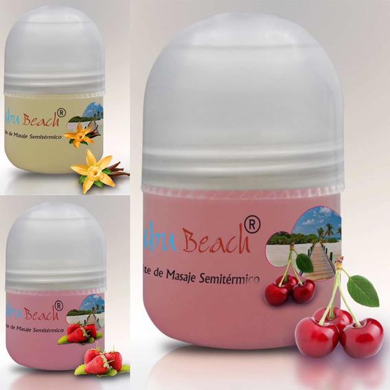 Aceite Masaje Erótico Kit 3 Pzas. Comestible