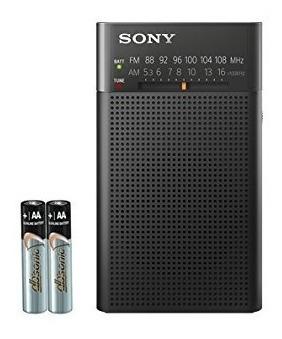 Radio De Transistor Portátil Amfm De Sony Con Altavoz Incor