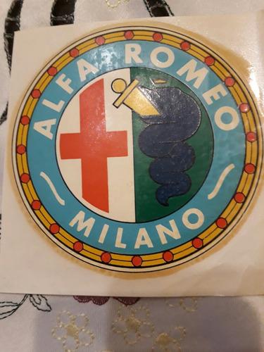 Calco Al Agua. Alfa Romeo.