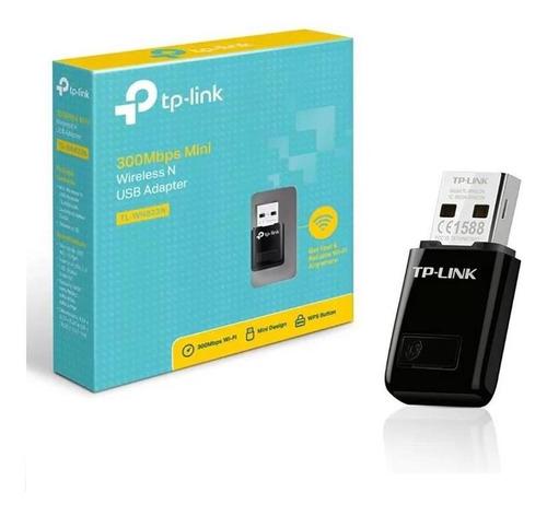 Imagen 1 de 7 de Mini Adaptador Inalambrico Usb Tp-link Tl-wn823n 300mb