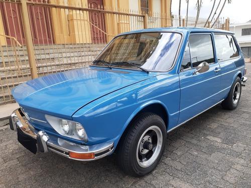 Imagem 1 de 14 de Volkswagen Vw Brasilia 1600 1976 Impecavel Raridade