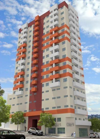 Apartamento Para Venda Em Ponta Grossa, Centro, 1 Dormitório - 008_2-28086