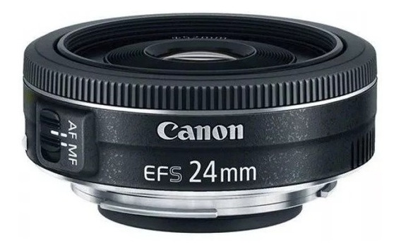 Lente Canon Ef-s 24mm F/ 2.8 Stm