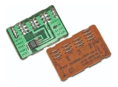 3 Chip Xe- Compatib Copycentre C20, Workcentre M20 Y 4118