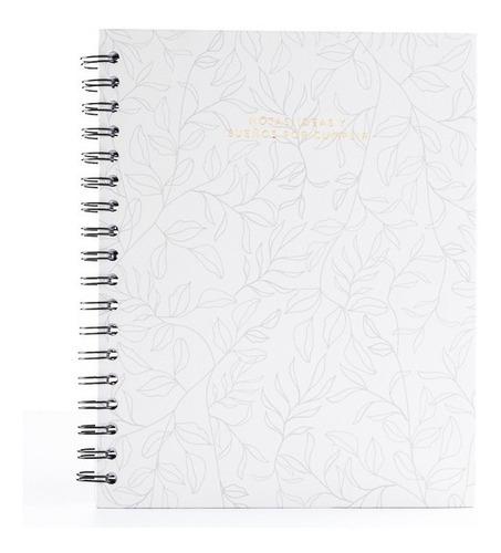 Cuaderno Dibujo - Hojas Blancas - Papelí - Blanco