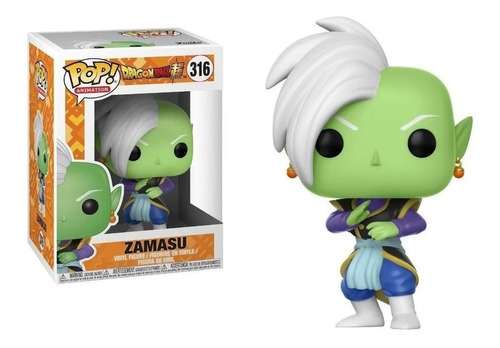 Funko Pop Zamasu 316 Dragon Ball Super Figura Original