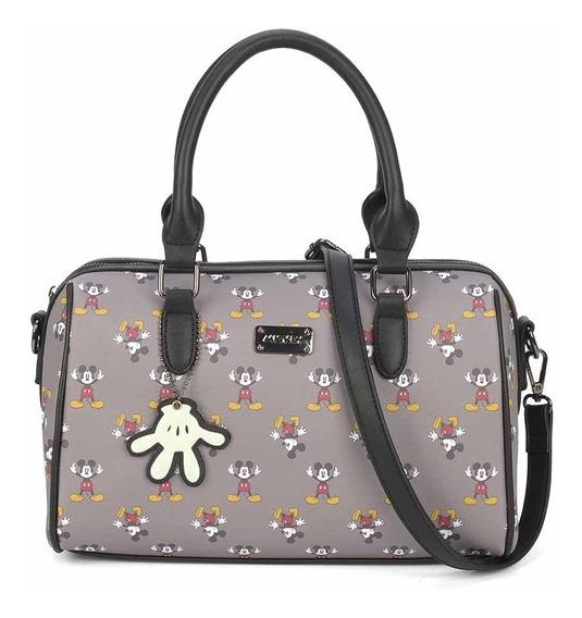 Bolsa Transversal Mickey Miniaturas + Chaveiro - Disney