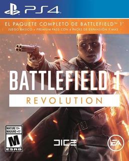 Battlefield 1 Revolution ~ Ps4 Digital Español