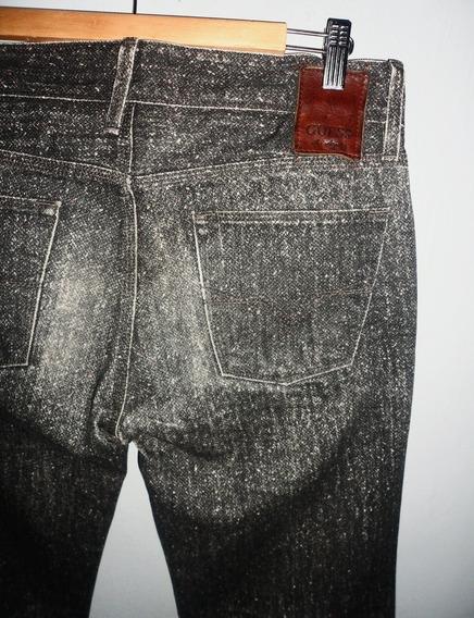 Pantalón Jean Guess Slim Straight Talle 40