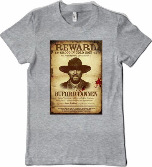 Remera Volver Al Futuro Wanted
